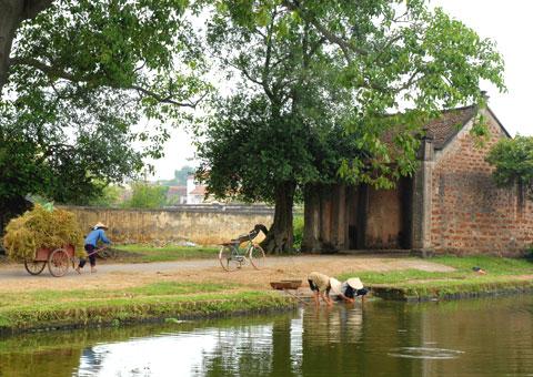 Văn hóa làng Việt Nam hôm qua và hôm nay