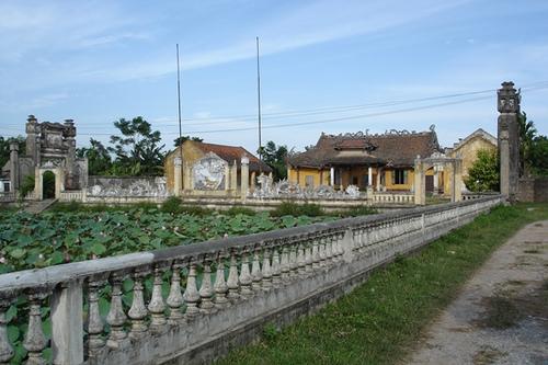 Đình làng Khinh Giao (An Dương - Hải Phòng)