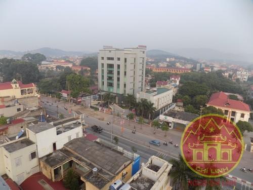 Một góc thị xã Chí Linh.