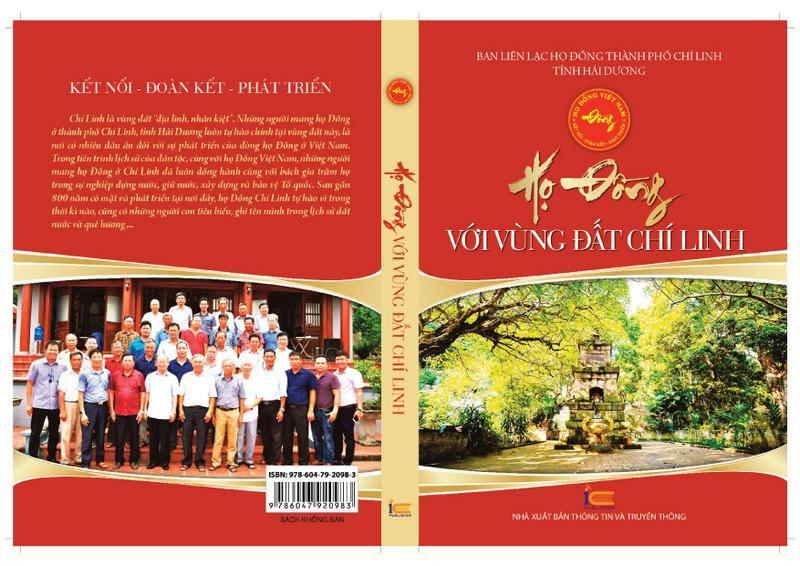 Bìa cuốn sách Họ Đồng với vùng đất Chí Linh